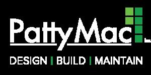 PattyMac logo white