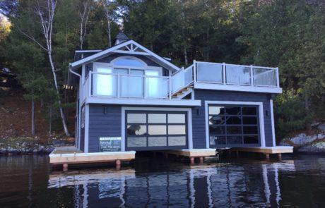 Muskoka Boathouse by PattyMac