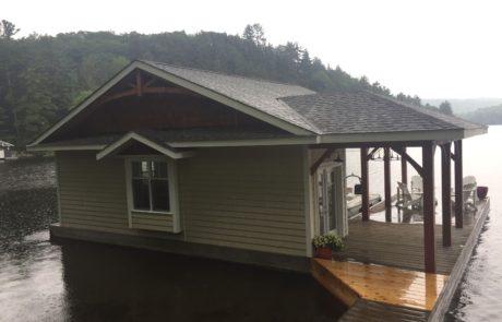 One level Muskoka boathouse by PattyMac