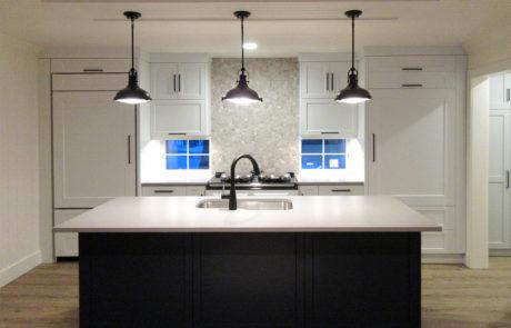 Custom white kitchen by PattyMac