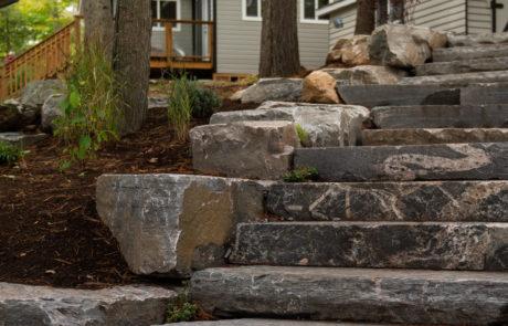 Stone steps and stonework by PattyMac
