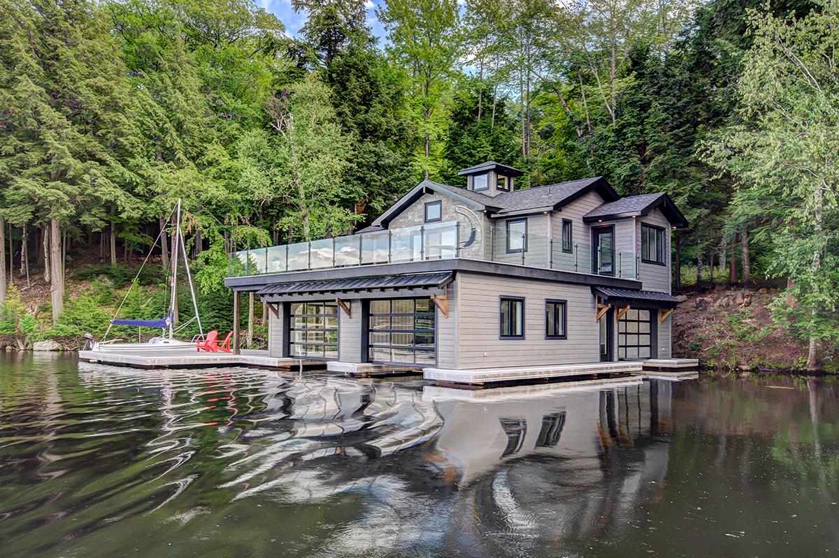 3 slip boathouse built by PattyMac