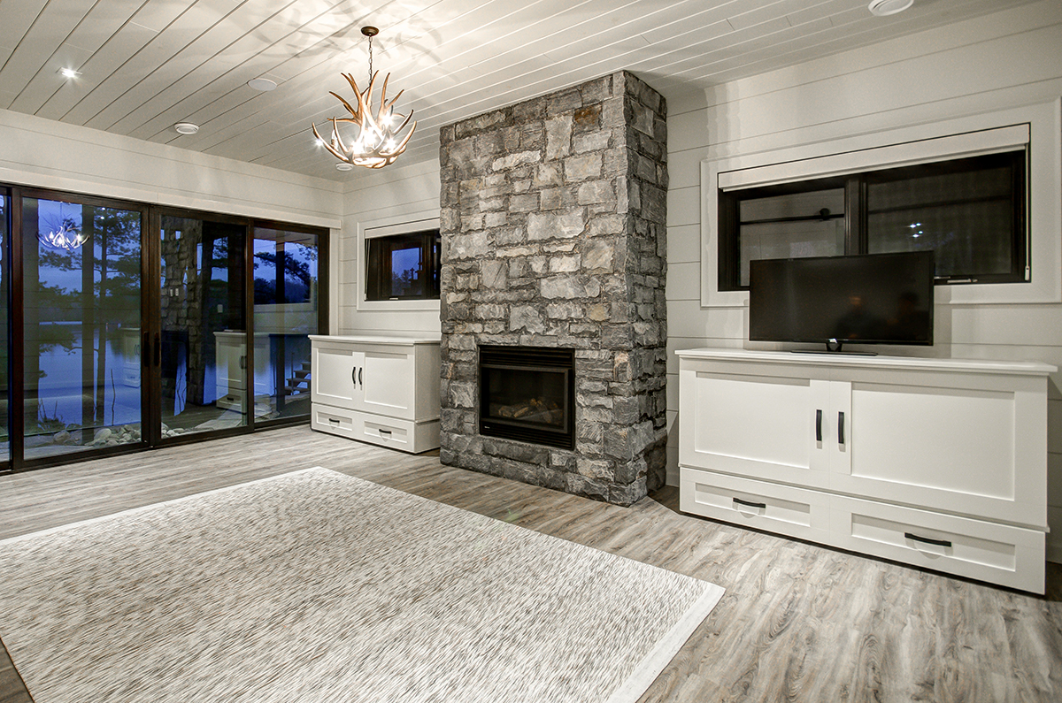 Ground level entertainment room with outside access by PattyMac